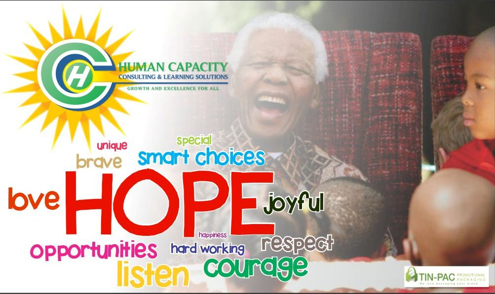 Nelson Mandela Day Plate for Hope
